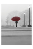The Umbrella Walker 8 Prints by Sandro De Carvalho