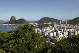 A General View over Guanabara Bay Towards the Sugarloaf Mountain in Rio De Janeiro, Brazil Photographic Print by Gernot Hensel