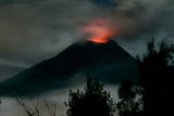 General View of Erupting Tungurahua Volcano Photographic Print by Jose Jacome