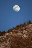 Moon Rise in Utah Photographic Print by George Frey