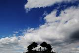 Two People Take a Walk on a Hill Photographic Print by Julian Stratenschulte
