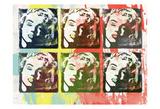 Monroe Painted Prints by Enrique Rodriquez Jr.