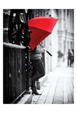The Umbrella Walker 4 Posters af Sandro De Carvalho