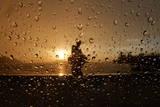 Sun Sets over Dal Lake in Srinagar Photographic Print by Farooq Khan