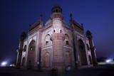 A View of the Lighted Safdarjung Tomb in New Delhi Photographic Print by Harish Tyagi