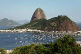 A View of Guanabara Bay Towards the Sugarloaf Mountaini N Rio De Janeiro, Brazil Photographic Print by Gernot Hensel