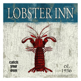 Lobster Poster by Jace Grey