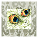 Peacock Tile 2 Art by Anne Ormsby