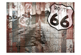 Road To Route 66 Poster by Jace Grey