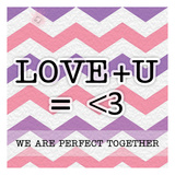 Love U Instaquote Posters by Tony Pazan
