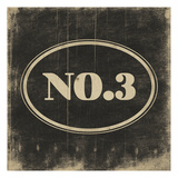 NO3 Black Posters by Jace Grey