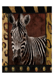 Zebra Dordered Art by Jace Grey