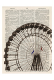 Ferris Wheel v2 Prints by Tina Carlson
