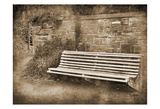 Park Bench Sepia 2 Posters by Suzanne Foschino