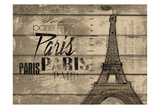Natural Paris Clean Horizontal Prints by  OnRei
