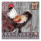 Favorelle Tile 2 Prints by Anne Ormsby
