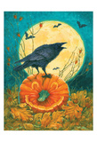 Black Bird Posters by Donna Race