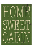 Cabin Posters by Jace Grey