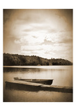 Boat Dock Sepia Posters by Suzanne Foschino
