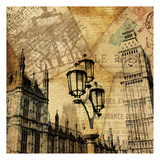 London 4 Prints by Jace Grey
