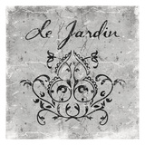 Le Jardin 2 Prints by Jace Grey