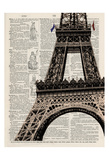 Eiffel Tower v2 Posters by Tina Carlson