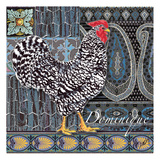 Dominique Tile Print by Anne Ormsby
