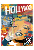 Marilyn Hollywood Prints by Jace Grey