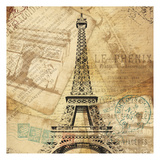 Eiffel Tower Poster by Jace Grey