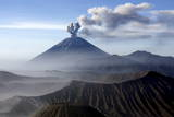 """Mount Semeru Spews a Hot Ash Cloud"" Photographic Print by Adi Weda"