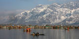 Sunny Day on the Dal Lake in Srinagar Photographic Print by Farooq Khan