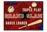Grand Slam Posters by Tony Pazan