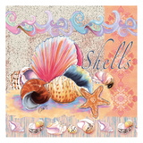 Shells Tile Posters by Anne Ormsby