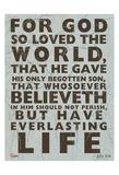 Carole Stevens - Yuhanna 3:16 - Reprodüksiyon