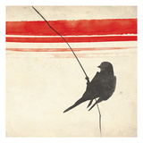 Simple Bird Prints by Jace Grey