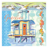 Guardian Tile Prints by Anne Ormsby