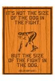 The Fight Kunstdruck von Tony Pazan