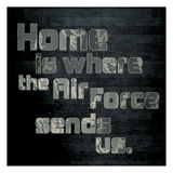 Air Force Home Prints by Lauren Gibbons