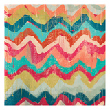 Hot Chevrons A Prints by Cynthia Alvarez