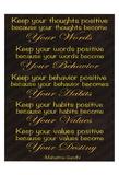 Gandhi Plakater af Lauren Gibbons