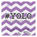 YOLO Posters by Tony Pazan