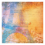 Romantic Paris Prints by Cynthia Alvarez