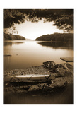 Canoe on Shore Posters by Suzanne Foschino