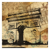 Arc de Triomphe Print by Jace Grey