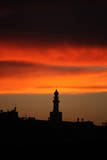Sunset in the West Bank City of Hebron Photographic Print by Abed Al Hafiz Hashlamoun