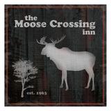 Moose Crossing Prints by Lauren Gibbons