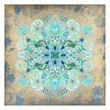 Floral Fractal I Prints by Nicole Tamarin