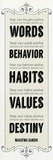Words Habits Posters by Craig Yanantuono