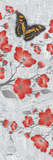 Cherry Blossom Butterflies 3 Posters by Diane Stimson