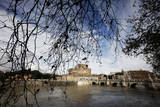 Rome's Tiber River Photographic Print by Alessandro Di Meo